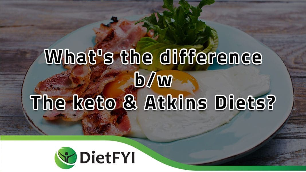 Atkins diet and the Keto diet
